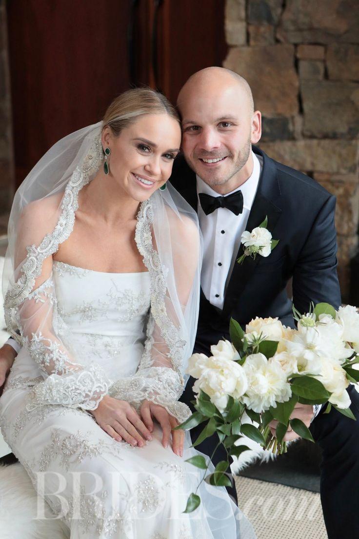 Becca Tobin with her husband Zach Martin