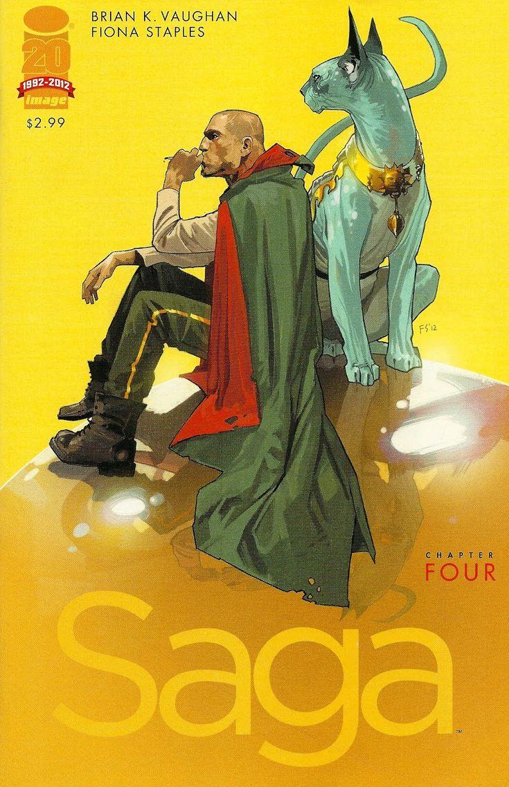 Saga by Paul Vaughan. Image comics is the new vertigo comics.