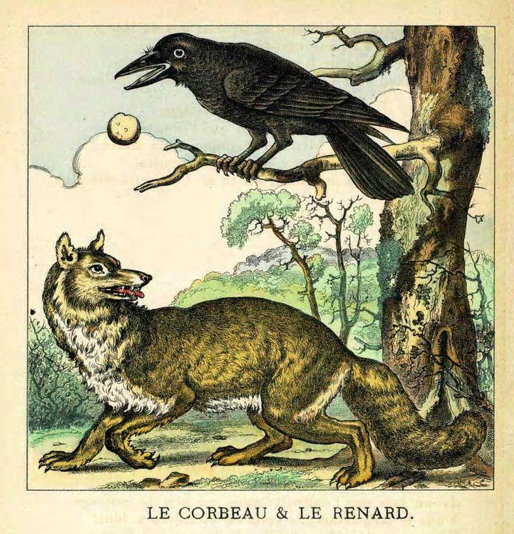 Maitre Corbeau et maitre Renard