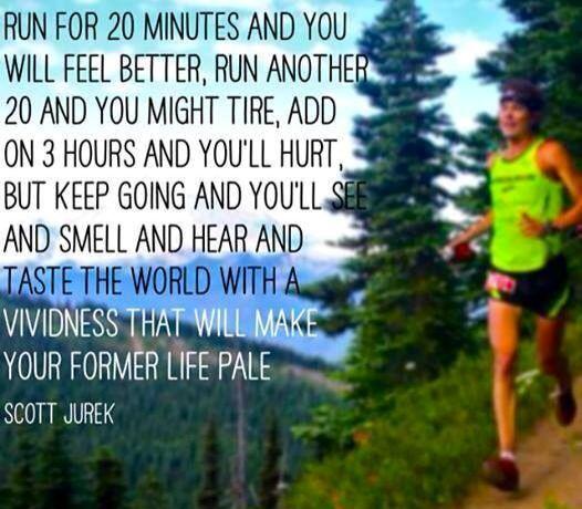 Scott Jurek - running yogi