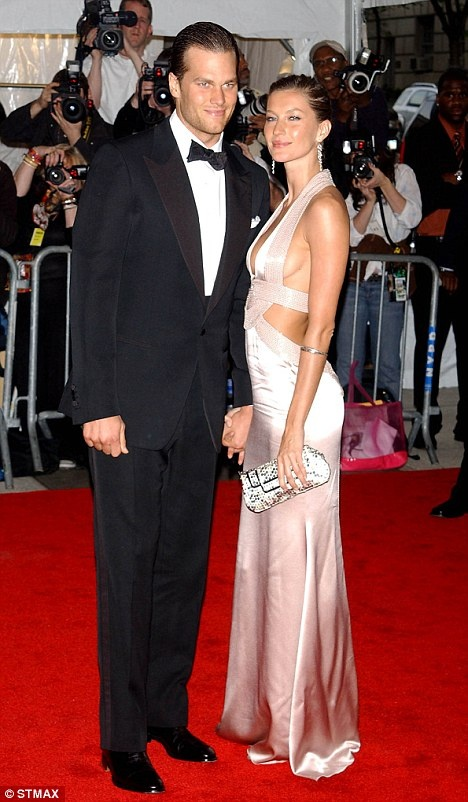 Giselle and Tom Brady by far the sexiest couple in the red carpet