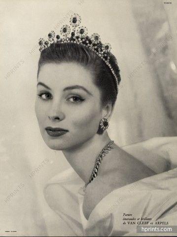 Van Cleef & Arpels 1953 Tiara, Crown, Photo Henry Clarke