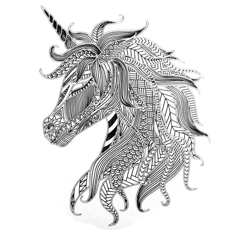 unicorn coloring page for adults - 250 best colouring pages to print images on pinterest