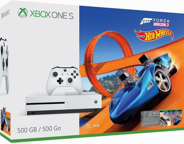 Xbox One S #500GB #Console - Forza Horizon 3 Hot Wheels Bundle  https://couponash.com/deal/xbox-one-s-500gb-console-forza-horizon-3-hot-wheels-bundle/164916