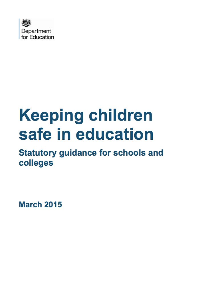 Keeping children safe in education Statutory guidance for schools and  colleges