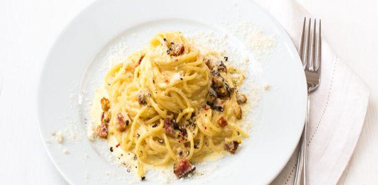 Recepty: Špagety carbonara