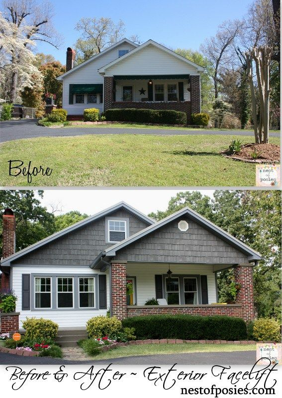 a facelift for our home {exterior remodel and curb appeal} - Nest of Posies