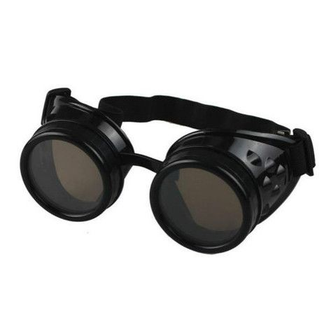 These stainless steel goggles are perfect for your steampunk outfits. Patterned after the welding goggles during the industrial age, these will surely make your gothic and vintage looks more authentic