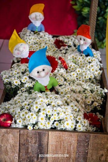 Cenário festas: Branca de Neve