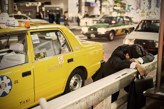 Adrian Storey: Sleeping on Tokyo streets   CNNGo.com