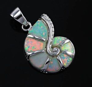 snail jewelery | Details about Snail White Fire Opal Woman Jewelry Gemstone Silver ...