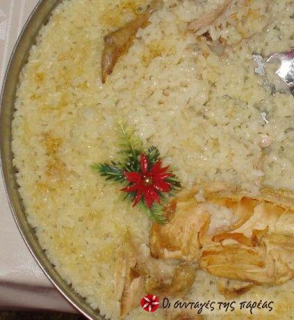 Κοτόπουλο με πιλάφι από την Κρήτη