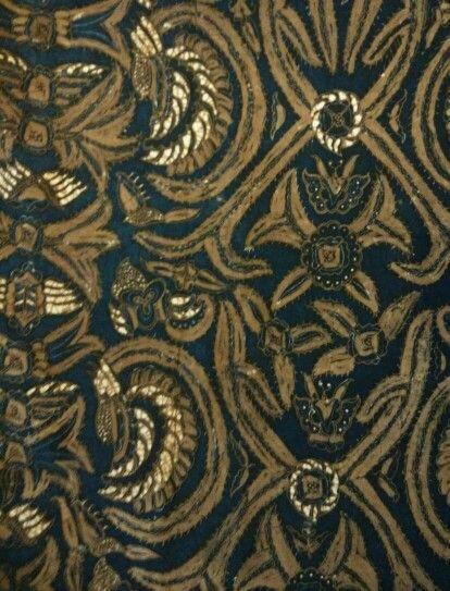 Batik pisan bali origin solo 1960 color sogan