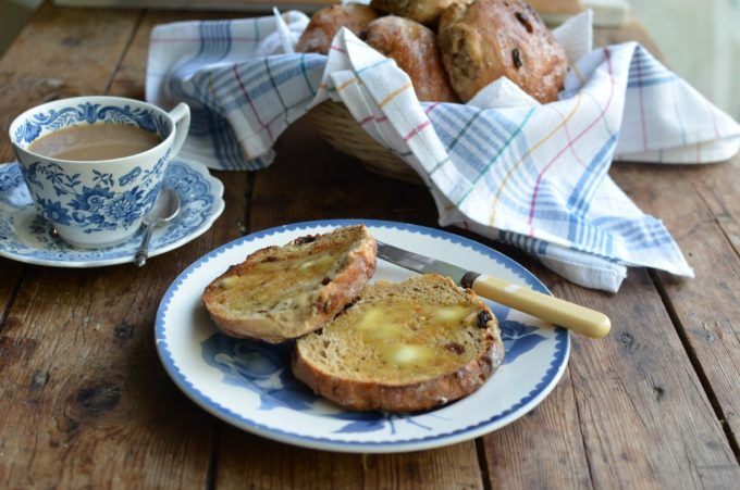 Lavender and Lovage | Toasted Teacakes and a Cuppa! Yorkshire Teacakes Recipe | https://www.lavenderandlovage.com