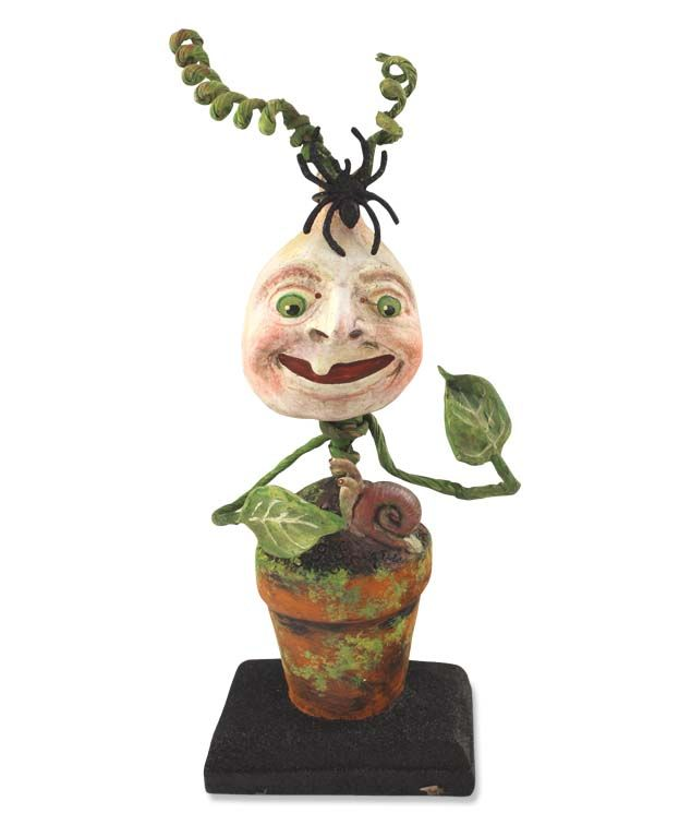 Whimsical Halloween Decoration Designed By Debra Schoch. Stinkweed at TheHolidayBarn.com