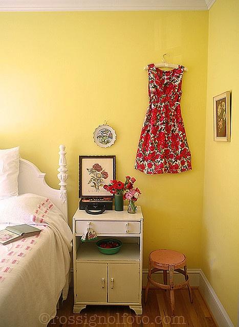 Beautiful dress as art/wallpaper.