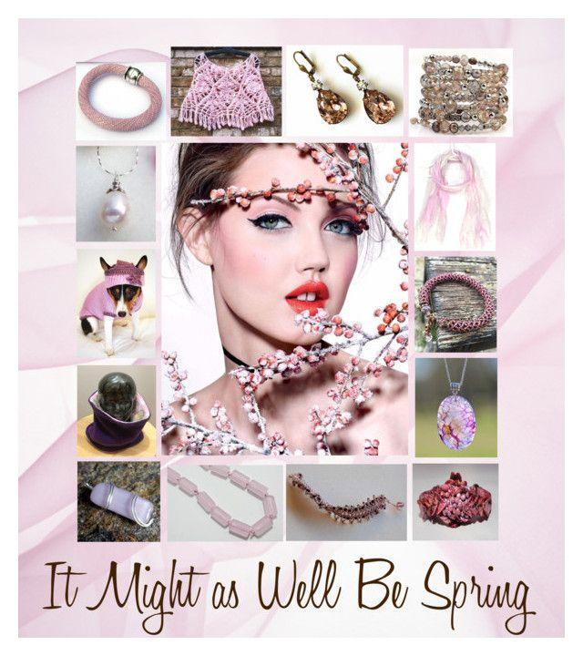It Might as Well Be Spring: Handmade Gift Ideas by paulinemcewen on Polyvore featuring Swarovski, Bibi and country