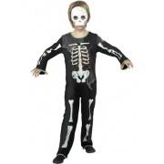 Spindel-skelett maskeraddräkt pojke