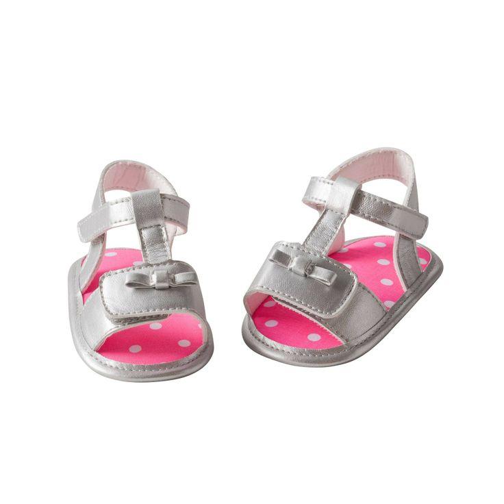 Sandales argentées fille ENFANT DO - 3 Suisses