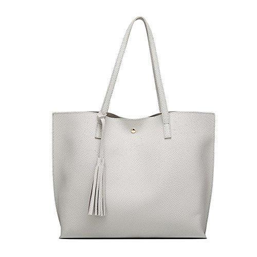 Oferta: 25.99€. Comprar Ofertas de Shoppers y bolsos de hombro para mujer Bolsos bandolera Blanco bolsos totes para mujer estilo simple barato. ¡Mira las ofertas!