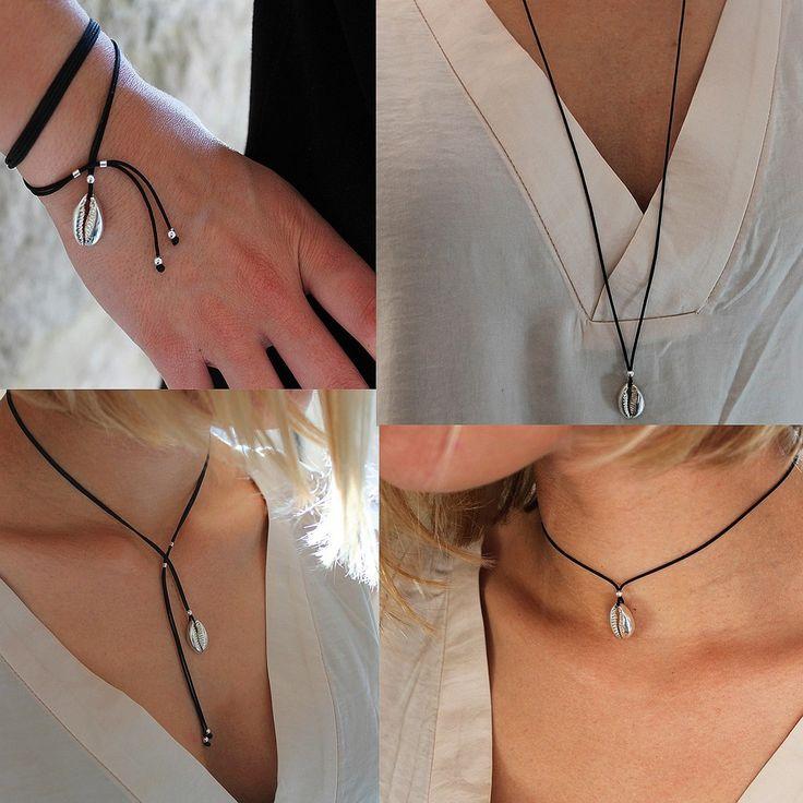 Bracelet Collier Maeva (4 en 1)