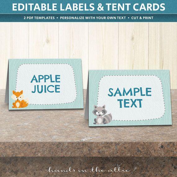 Mejores 95 imágenes de Table Place Cards en Pinterest | Plantilla ...
