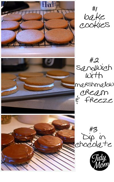 Moon Pie Recipe by @Cheryl Tidymom