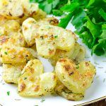 Heart Shaped Roasted Potatoes - Featured Image