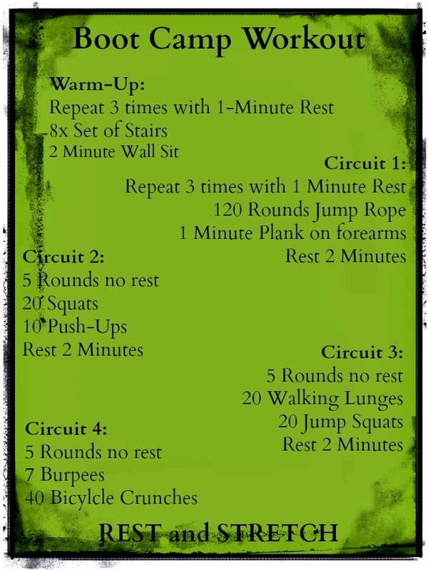 17 Best images about Boot Camp Fitness Ideas on Pinterest ...