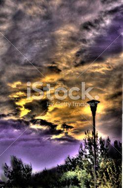 surreal lamp Royalty Free Stock Photo