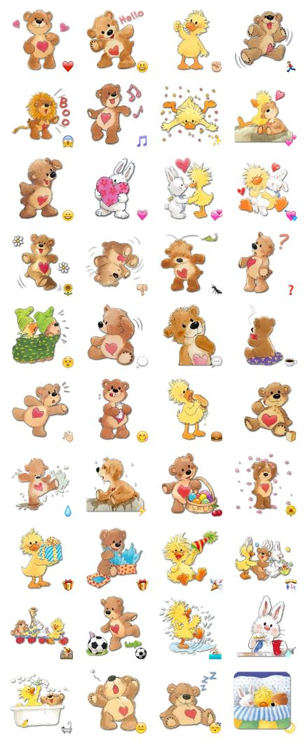 Zoo Animals Funny - Stickers Telegram