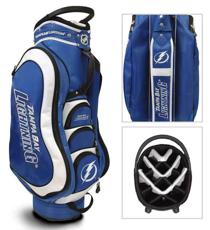 Tampa Bay Lightning Medalist Golf Cart Bag Golf bags