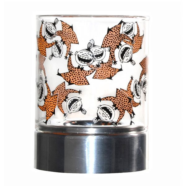 Moomin candleholders are multifunctional design pieces that can bring joy to any home. This beautiful candleholder features happy Little My.