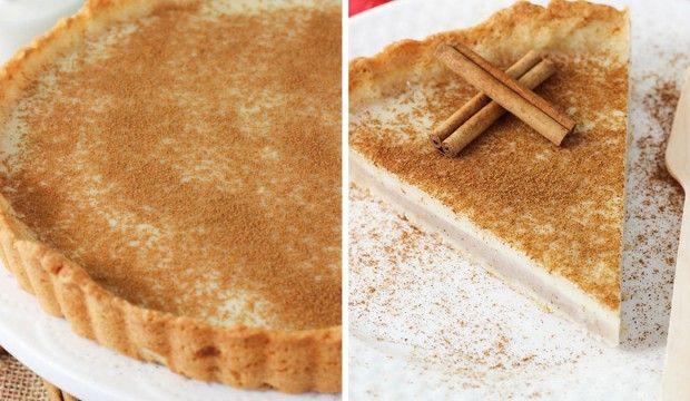 Mléčný koláč – tradiční jihoafrický dezert