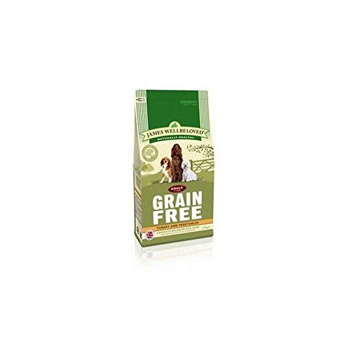 James Wellbeloved Dog Food Grain Free Turkey and Veg Adult (1.5kg) (Pack of 4) * To view further for this item, visit the image link.