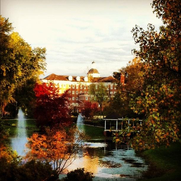 #Ohio University in #Athens #fallohio