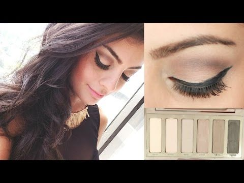 Neutral Everyday Makeup Tutorial! (Feat. Urban Decay Naked 2 Basics Palette) - YouTube