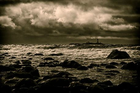 'Stormy weather at Jæren' by studio-toffa on artflakes.com as poster or art print $18.03