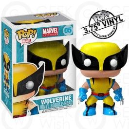Boneco Wolverine - Marvel - Funko Pop! #geekwish