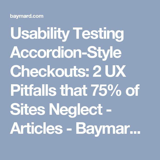Testing Accordion Menu Designs & Iconography | Viget