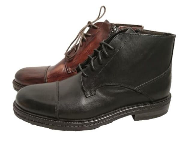 Cap toe boots for men, made in Italy by Exton by Exton. Buy it 69,00 €