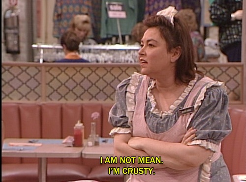 Best Roseanne quote ever.