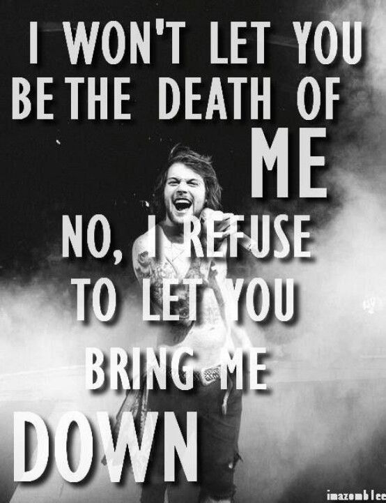 Song Death of me album from death to destiney by Asking Alexandria