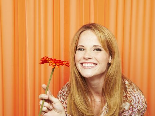Katie Leclerc could not be any cuter.
