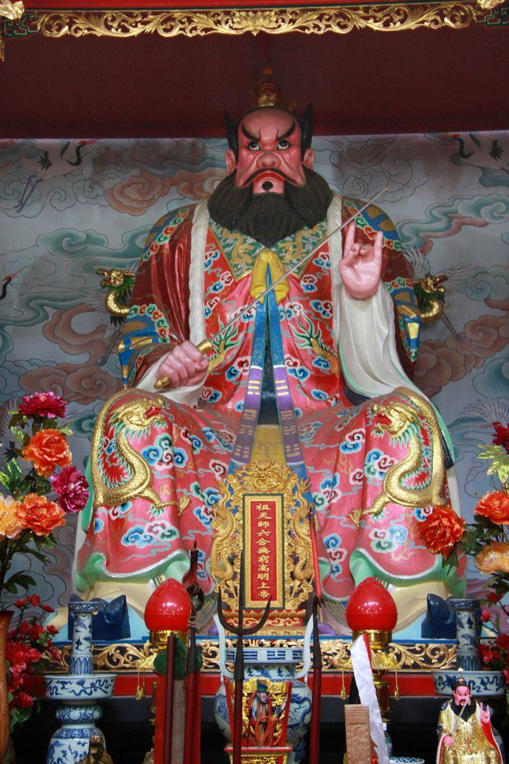正一祖天師 Statue de Zhang Daoling au Longhushan   Dewi, Seni