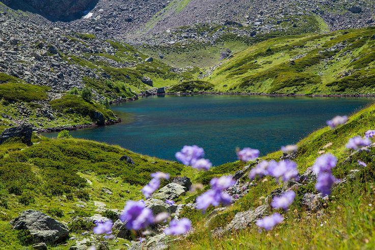 Озера в долине Малой Дукки, Архыз