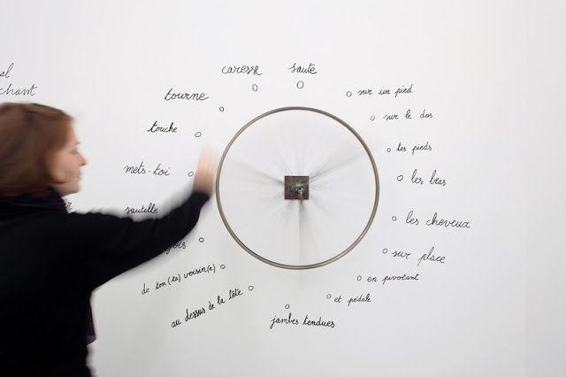 Chroniques de l'Ancienne Pédale: La roue de bicyclette de Robert Filliou