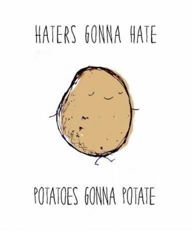 potato gonna potate