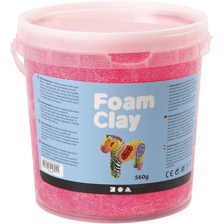 Foam Clay - roze 560 gram