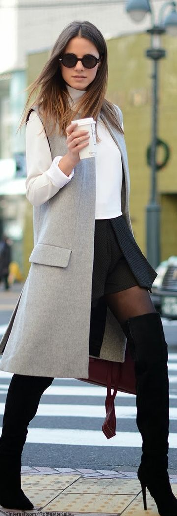 Street Style | Fashionvibe www.facebook.com/... | More outfits like this on the Stylekick app! Download at http://app.stylekick.com